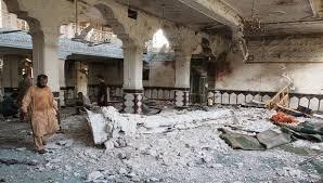 bom meledak di dalam sebuah masjid di ibukota Afghanistan, Kabul, pada hari Selasa (2/6)