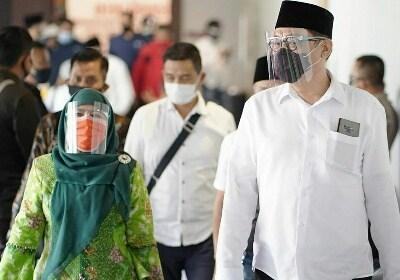 Pasangan Calon (Paslon) Bupati dan Wakil Bupati Sidoarjo, H Kelana Aprilianto dan Bunda Dwi Astutik.