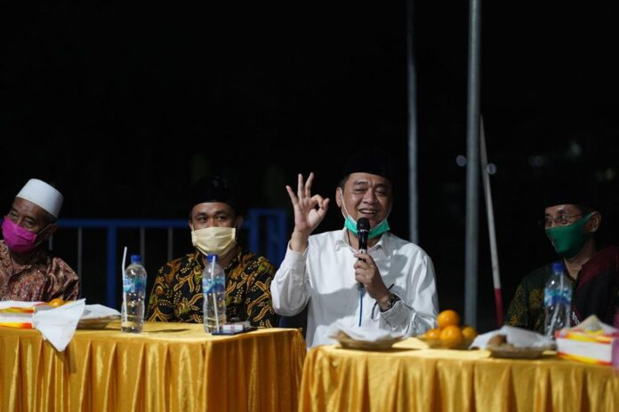 Calon Bupati Sidoarjo Kelana Aprilianto kembali menegaskan mimpi besarnya bisa membuat Kabupaten Sidoarjo makmur dan damai.