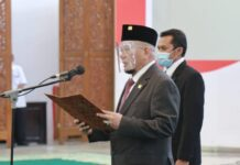 Ketua DPD RI AA LaNyalla Mahmud Mattalitti mengapresiasi Presiden Joko Widodo yang menganugerahkan gelar pahlawan nasional kepada enam tokoh dari berbagai provinsi
