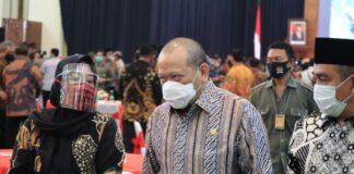 Ketua DPD RI AA LaNyalla Mahmud Mattalitti mendoakan agar Anies segera sembuh dari Corona.
